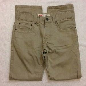 Levi's | Khaki skinny jeans